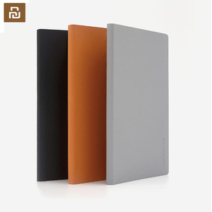 Image 1 - 2pcs Youpin Note Book Kaco Green Noble Smooth Paper NoteBook PU Leather Cover Slot Writing Book for Office School Gift