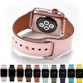 Echtes Leder Uhr Band Strap Für Apple Uhr Serie 4 3 2 1 42mm 44mm   VIOTOO Frauen Luxus Leder Uhr Band für iwatch|Uhrenbänder|   -