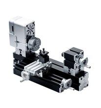 ZRCC01036L Enhanced Miniature Metal Lathe 50mm Center Height Mini DIY Lathe for Processing Aluminum|Wood| Plastic Materials
