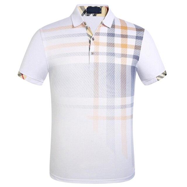 Brand New Men's Polo Shirt Men Cotton Short Sleeve Shirt Sportspolo Jerseys Plus Size M- 3XL Camisa Polos 3