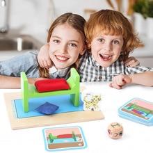 Giocattoli educativi per la prima infanzia Montessori in legno divertimento pensiero educativo esercizio manuale cervello giocattoli educativi per la scuola materna