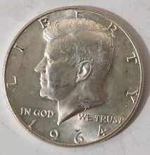 United States 50 Cents 1964 Old 100% Real Silver Original Coins Collectible Coin jerusalem israel united states embassy trump challenge coin dedicated may 14 2018