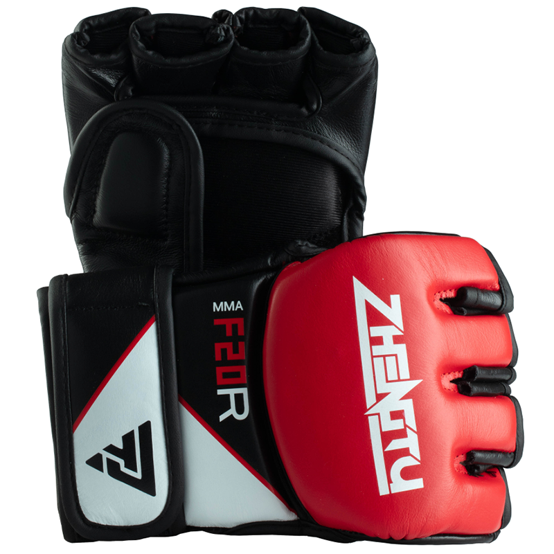 Boxing Gloves for Training Muay Thai Cowhide Leather Mitts for Sparring MMA