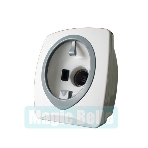 Non Invasive Personal Care 3D Digital Magic Mirror Facial Skin Scanner Hair Analyzer Skin Diagnostic Machine