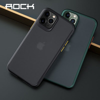 ROCK Frosted Phone Case For iPhone 11 Pro Max Protective Case PC TPU Shockproof Cover for iPhone X Xs Max Mobile Phone Cases