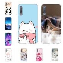 For Samsung Galaxy A3 A7 2018 Case TPU For Samsung Galaxy J1 2016 Cover Bear Patterned For Samsung Galaxy J2 Core J2 Prime Bag все цены