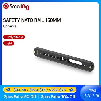 SmallRig Safety Nato Rail 150mm Long With Pin For Camera Quick Release Handle NATO Clamps EVF Mount  -1876