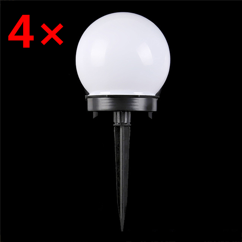 4 Pcs/lot Solar Garden Light Led Outdoor Lighting Built In Rechargeable Battery Lawn Home Yard Solar Lamps As Decoration