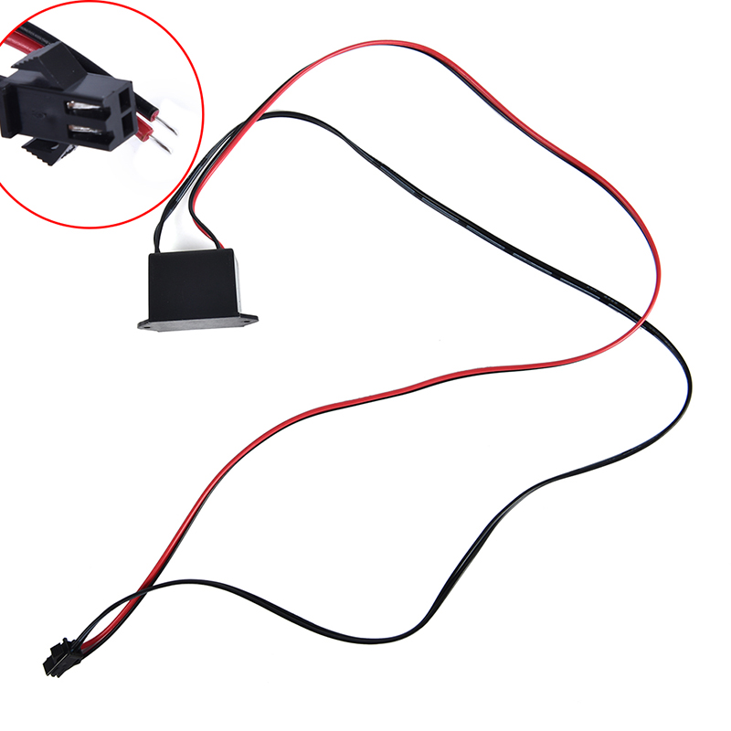 12V Neon EL Wire Power Driver Controller Glow Cable Strip Light Inverter Adapter