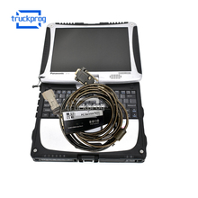 CF19 laptop for Yale Hyster PC Service Tool CAN USB Adapter Cable Ifak forklift trucks diagnositc tool