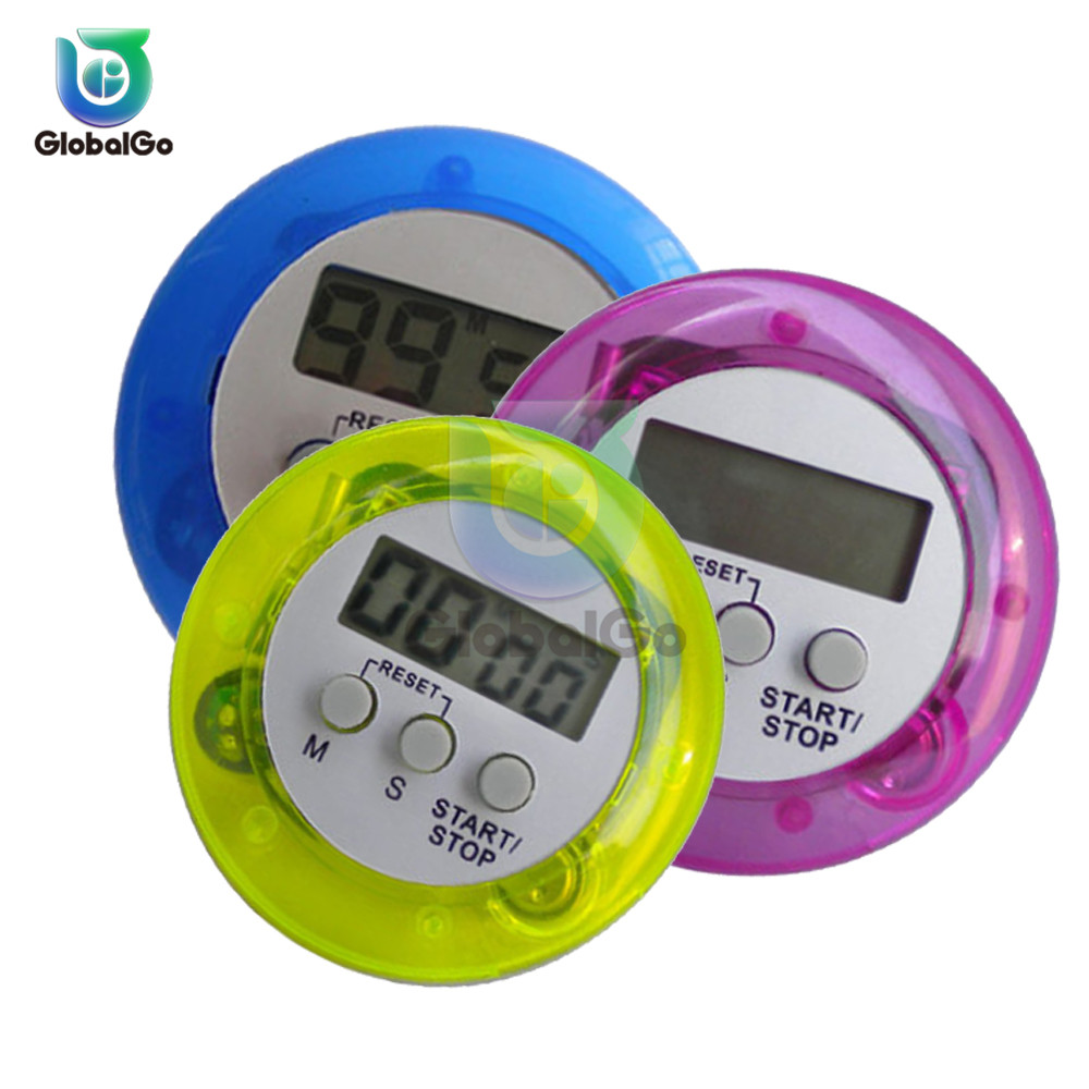 Multifunctional Kitchen Timer Alarm Clock Home Cooking Practical Supplies Cook Food Tools Accessories 99m 59s
