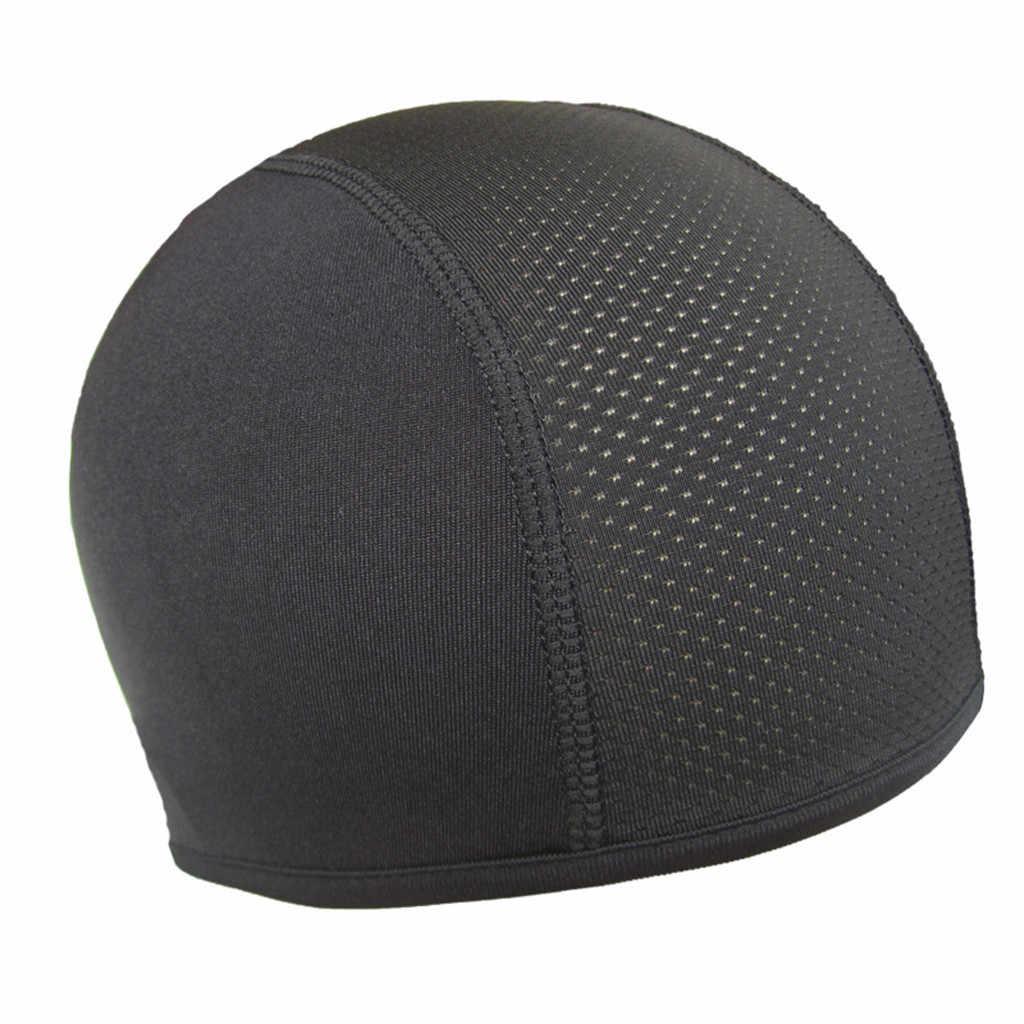 الرجال قبعة قبعة الرجال الشتاء قبعة الرطوبة فتل التبريد الجمجمة قبعة الداخلية بطانة خوذة قبعة غطاء مقبب العصابة czapka zimowa