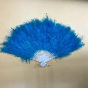 Image 3 - רך פלאפי ליידי ורלסק חתונת יד תחפושת תלבושות ריקוד נוצת מאוורר
