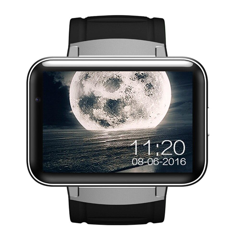 Letine DM98 luxe Android montre intelligente téléphone portable 3G montres électroniques Support Sim pour hommes femmes PK Kingwear KW18 KW88