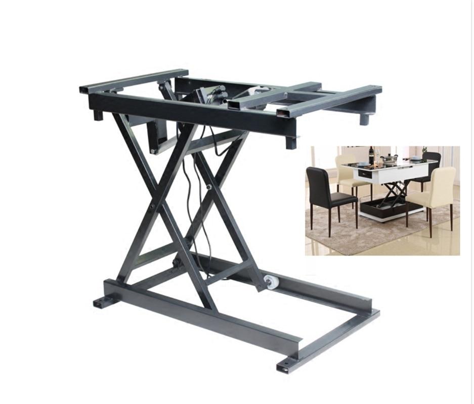 Smart personnalisé maison accessoires filaire sans fil électrique ascenseur table basse table à manger matériel pliant cadre de fer