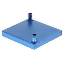 Blocs de refroidisseur d'eau en aluminium de première qualité pour les dissipateurs de radiateur graphiques CPU 80x80mm (paquet de 1)