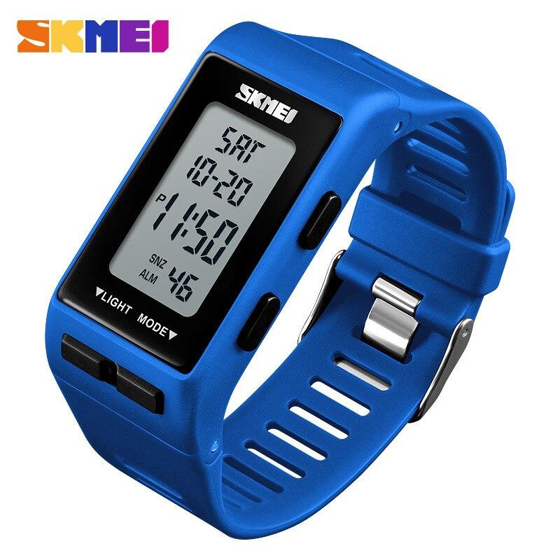 SKMEI Waterproof 30M Luxury Children Boy Multifunction Boy Digital LED Sports Waterproof Wrist Watch Kids Electronic Watch Gift