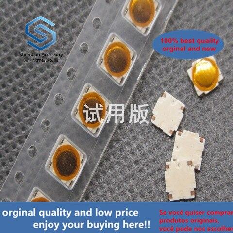 50pcs 100% Orginal New 5x5x0.5 Ultra-thin Waterproof Film Sheet Small Switch Patch 4 Feet Micro-touch Light Touch