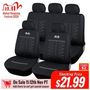 Image 1 - AUTOYOUTH غطاء مقعد السيارة الرياضية، قياس عالمي يناسب معظم الماركات, حماية المقاعد، ملحقات تصميم داخلي، غطاء مقعد أسود