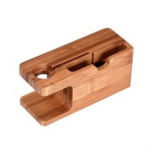 2 in 1 charging dock station phone watch stand holder portable fast charger for apple watch for iphone x 8 7 6 2 in 1 Bamboo Wood Desktop Stand for iPhone iPad Tablet Phone Stand Holder Charger Charging Dock Station for Apple Watch