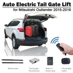 Auto elektryczny podnośnik tylnej klapy do Mitsubishi Outlander 2015-2018 pilot napęd siedzenia sterowane za pomocą przycisków ustaw wysokość unikaj szczypania