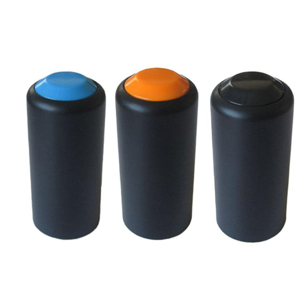 1 Pair Wireless Microphones Handheld Mic Battery Screw On Cap Cover For Shure