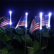 2pcs LED Solar Light Waterproof Durable Decoration Light Garden Courtyard Lawn Lamp #CW gartt 2pcs cw page 3