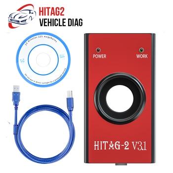 HITAG 2 klucz programujący HiTag2 V3.1 programator VIN kod Pin czytnik kluczy Immo zdalny Transponder uniwersalne automatyczne narzędzie diagnostyczne