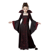 Halloween costume for kids Girls Scary Witch Vampire Cosplay Costume Childrens performance clothing Halloween dresses For Party