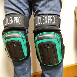 Gel Knee Pads for Work Construction, Gardening, Cleaning, Flooring and Garage - Heavy Duty Support Kneepads