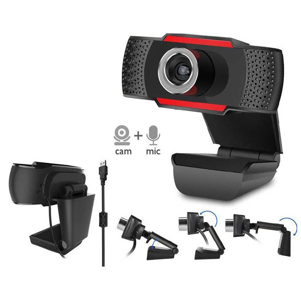 Веб-камера HD для ПК, цифровая мини-камера USB для записи видео, Поворотная веб-камера, подключи и работай, 12,0 М пикселей, мини USB камера с микрофоном 1080P