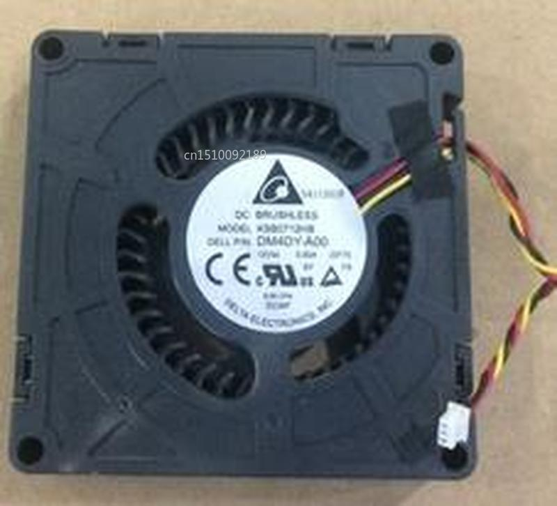 For DELTA KSB0712HB-DF70 KSB0712HB DF70 DM4DY-AOO DC12V 0.50A 3pin 7015 70x70x15mm Cooling Fan Free Shipping