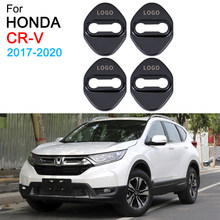 Auto Deurslot Covers Decoratie Protector Case Voor Honda Crv 5th Accessoires 2017 2018 2019 2020(China)