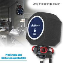 New Professional Studio Mic Screen Acoustic Filter Desktop Noise Microphone Reduction For YouTube Screen Recording Wind Live Ti