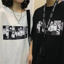 Mens tshirt Naruto Summer Harajuku Cool Unisex t shirt Short Sleeve Japanese Anime Funny Printed T-shirt Streetwear Plus size