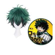 My Hero Academia Izuku Midoriya Wig Boku No Hero Academia/Academy Cosplay Hair Izuku Midoriya Deku Wig Cosplay Wig