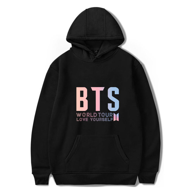 BTS LOVE YOURSELF WORLD TOUR HOODIE (5 VARIAN)