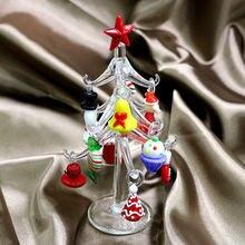 Муранское прозрачное стекло ручной работы на заказ статуэтка