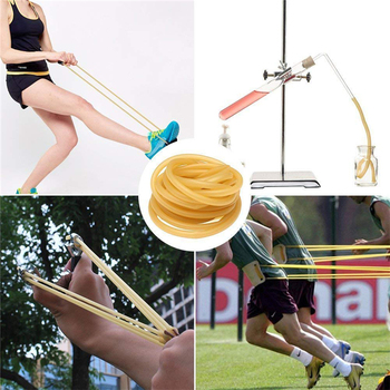 2x4mm 3x5mm 4x6mm Hunting Natural Latex Tube Outdoor Shooting Slingshots Rubber Band Catapult Fitness Yoga Bungee Elastic Band 6
