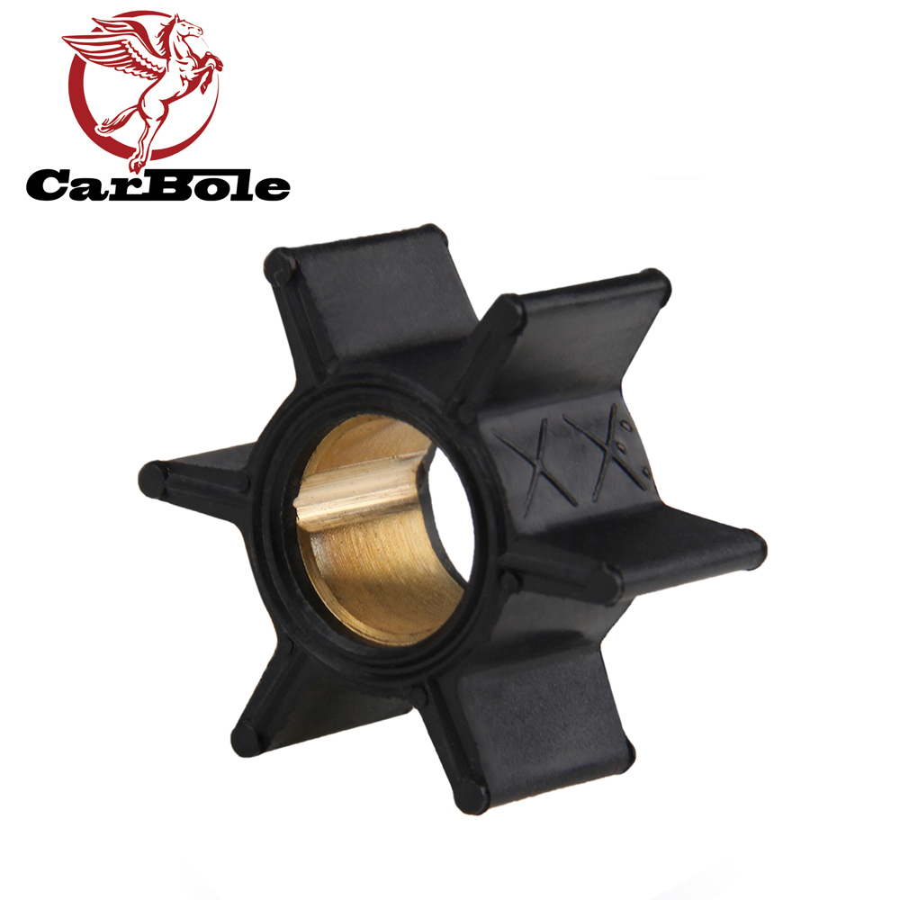 CARBOLE Outboard Motor Quicksilver Water Pump Impeller 47-89981 47-65957 18-3039 For 2-stroke Mercury And Mariner Outboard Model
