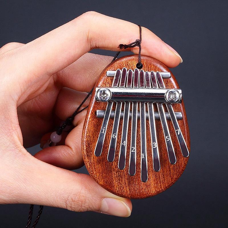 8 chave mini kalimba requintado dedo polegar