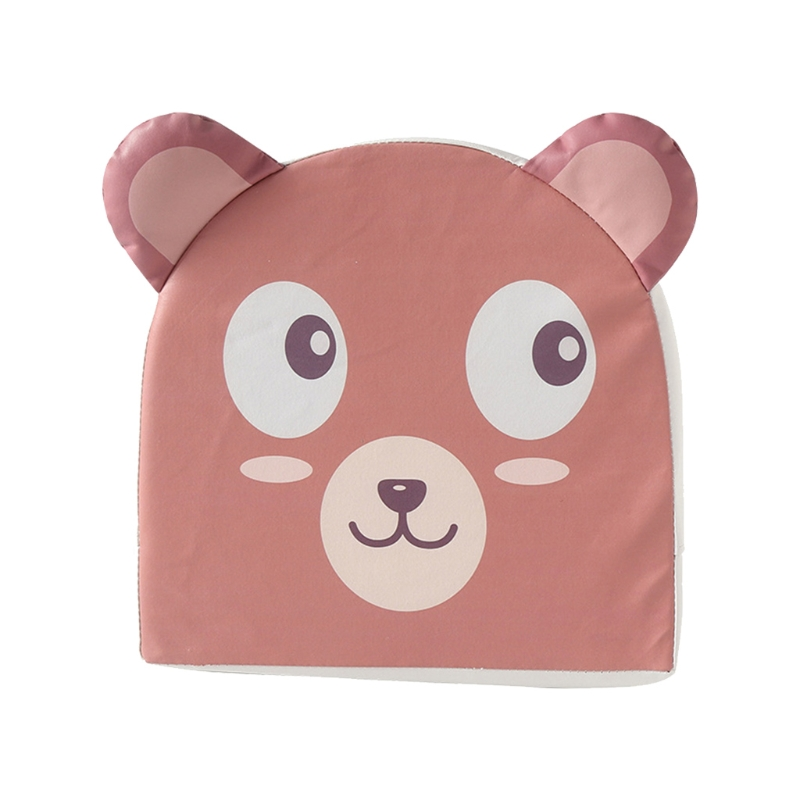 Kid PU Leather High Chair Pad Booster Dining Room Detachable Sponge Seat Cushion