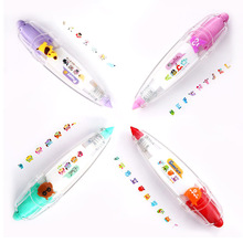 1 pc New Arrival Kawaii Animals Press Type Decorative Correction Tape Diary Stationery School Supply