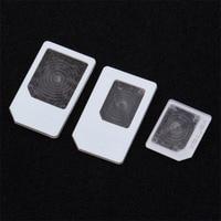 3 pcs Para Adaptadores SIM nano para Micro Padrão Card Adapter Tray Holder Para iPhone 5 Livre/Transporte da gota|  -