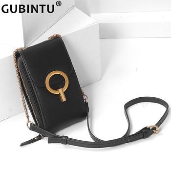 цена на Brand Designer Women Bags Genuine Leather Handbag Stylish Mini Shoulder Bag Versatile Ladies Crossbody Bags Small Bag for IPhone