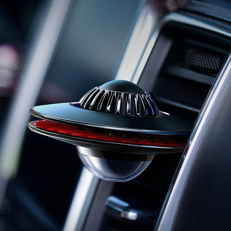 Novel Designed Car Air Freshener Car Fragrance Aluminum Alloy Car Diffuser 2 Sizes Car Diffuser Vent Clip Scent For Car