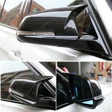 Крышка зеркала заднего вида из углеродного волокна для BMW F20 F21 F22 F30 F32 F36 X1 M3