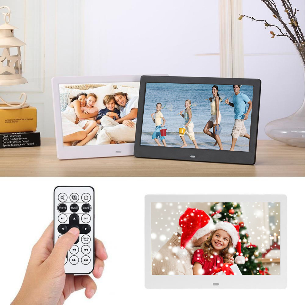 15 inch Digital Photo Frame LED Backlight HD 1280 x 800 Electronic Album Picture Music Movie Good Gift For Friends Family image