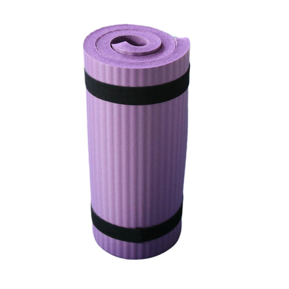 Yoga Mat Thick NBR Yoga Pad for Workout Training Abdominal Exercise 3