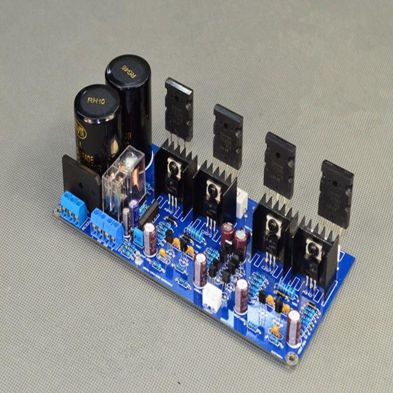 V20 Dual AC30V 125W+125W A1943 / C5200 Class AB High Power HIFI Fever Amplifier Board